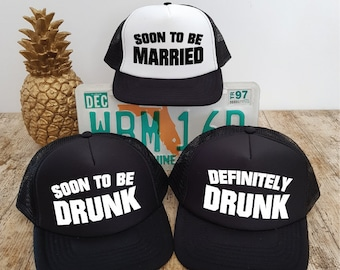 Bachelor Party Hats. Stag Party Hats. Bachelor Hats. Grooms Party. Stag Do.  Stag Weekend. Bachelor Weekend. Trucker Hats. MIX AND MATCH. d4a43f83eea7