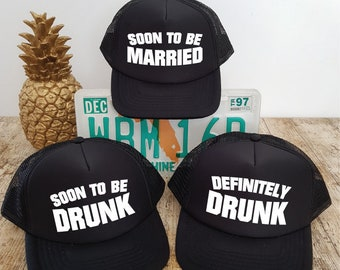 0a6c1cdc07e Bachelor Party Hats. Stag Party Hats. Bachelor Hats. Grooms Party. Stag Do.  Stag Weekend. Bachelor Weekend. Trucker Hats. MIX AND MATCH.