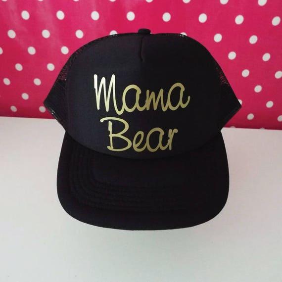 Mama Bear Hat. Mama Trucker Hat. Mama Hat. Mom Hat. Momlife.  d2492d5e3f7e