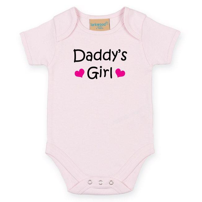 1aca634a591d Daddy s Girl Baby Bodysuit. Baby Grow. Newborn Baby Gift. Baby Vest ...