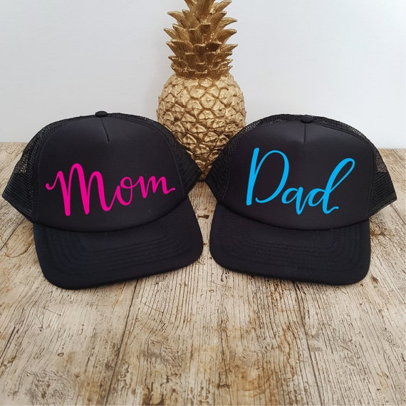e637d5d9d9e Mom   Dad Hats. Trucker Hats. Mom Hat. Dad Hat. Matching Hats.