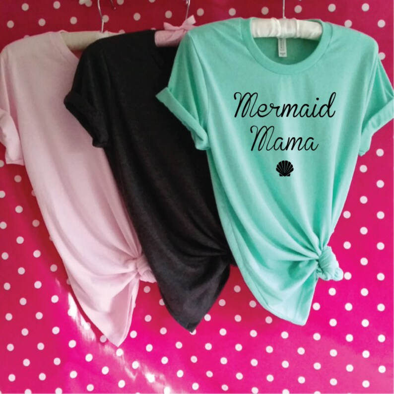 d068b29a Mermaid Mama Shirt. Mermaid Mommy. Mermaid Mom. Mermaid Party.   Etsy