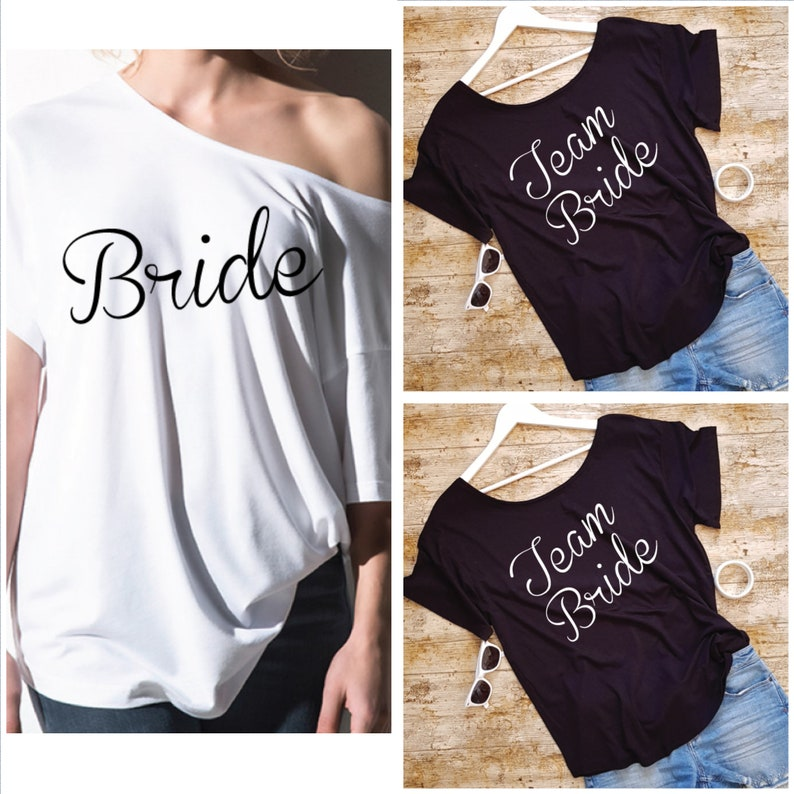 9fcdd4580 Bachelorette Party Shirts. Team Bride Shirts. Bride Shirt. Hen | Etsy