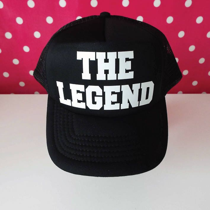 b33cc8fddb0 The Legend Trucker Hat. The Legend Hat. Legend Hat. Snapback ...