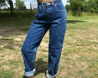 Vintage Deadstock Rockies High Waisted Dark Wash Petite Jeans | xxs | xs | 23 | 24