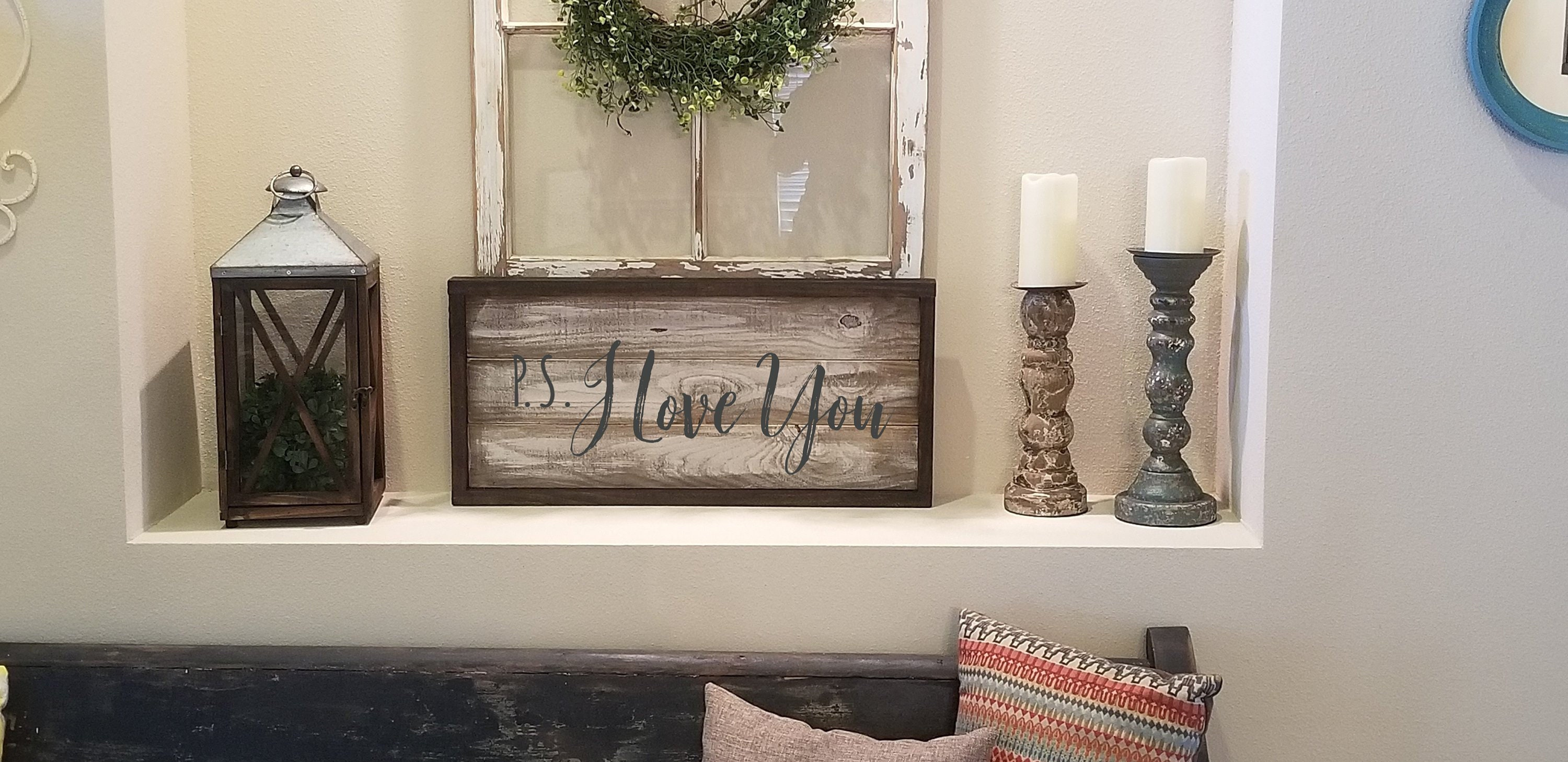 I Love You Sign Bedroom Decor Wedding Decor Wedding Gift Wood Sign Farmhouse Decor Wedding Decor Rustic Wedding Over The Bed Sign