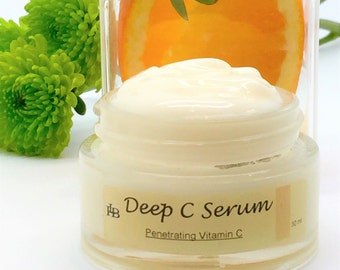 Anti Wrinkle Serum, Vitamin C Serum, w Skin Barrier protection, Vitamin C Cream, Skin Lightening, with Long Lasting Delivery that Penetrates