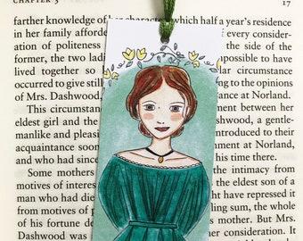 Jo March bookmark - Little Women bookmark - literary bookmark