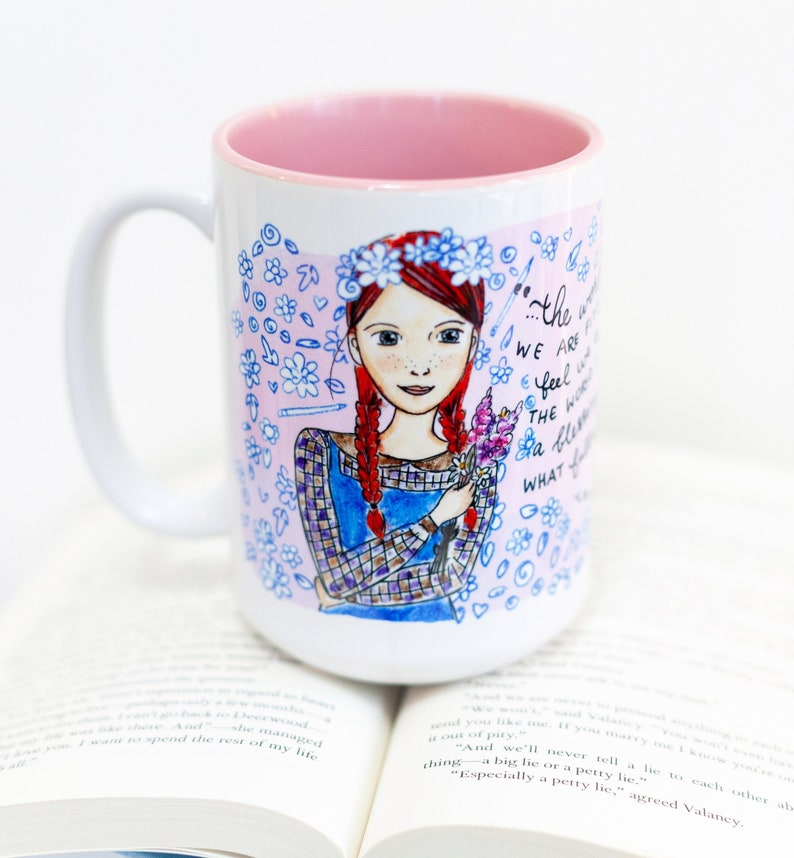 Coffee Mug  Anne of Green Gables   Anne and Lucy Maud image 0