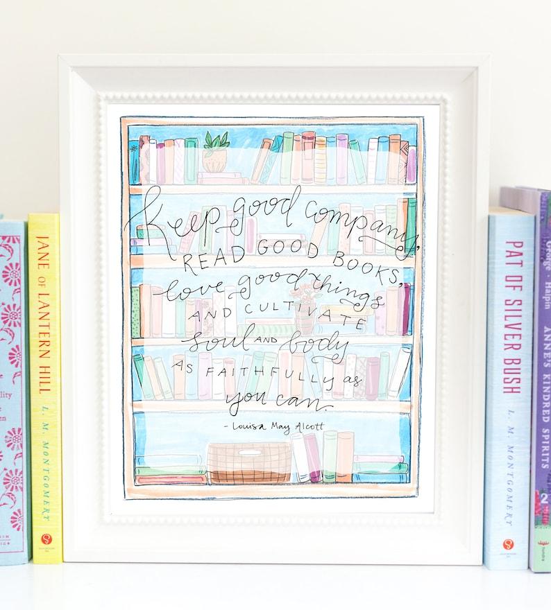 Print  Read Good Books QRGB1 image 0