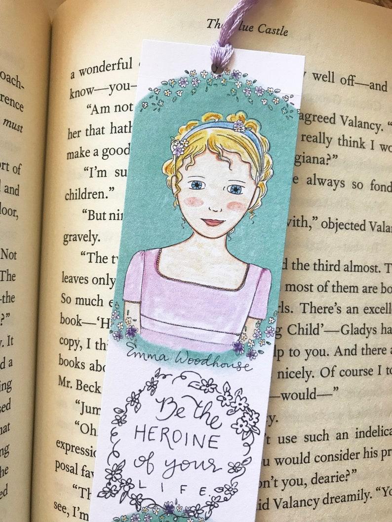 Emma Woodhouse Bookmark  Emma Jane Austen  bookmark  image 0