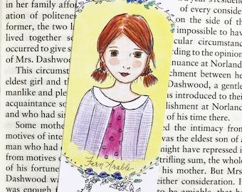 Fern Arable Bookmark - Charlotte's Web - bookmark - handmade