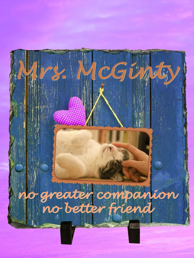 In Memory of a Pet Who Has Passed Away Memorial  Sympathy Gift image 0