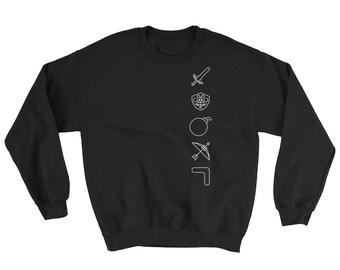 Men s Legend of Zelda Minimalist Sweater Sweatshirt - Icons of Zelda c833c31bc38