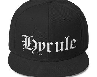 795674f207e Straight Outta Hyrule - Black Baseball Cap with Snapback (Legend of  Zelda N.W.A.)