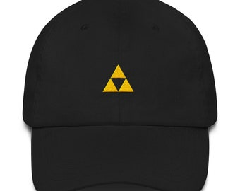 3aee796947657a Black Triforce Legend of Zelda Nintendo Dad Hat