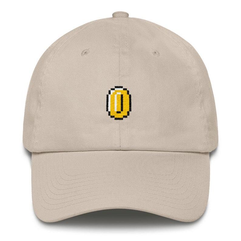 5fa2033c89a Super Mario Bros Coin Nintendo Dad Hat