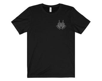 Men's Majora's Mask Legend of Zelda Minimalist Icon T-Shirt