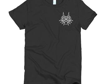 Women's Majora's Mask Legend of Zelda Minimalist Icon T-Shirt