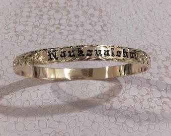 6mm gold filled Hawaiian bracelet