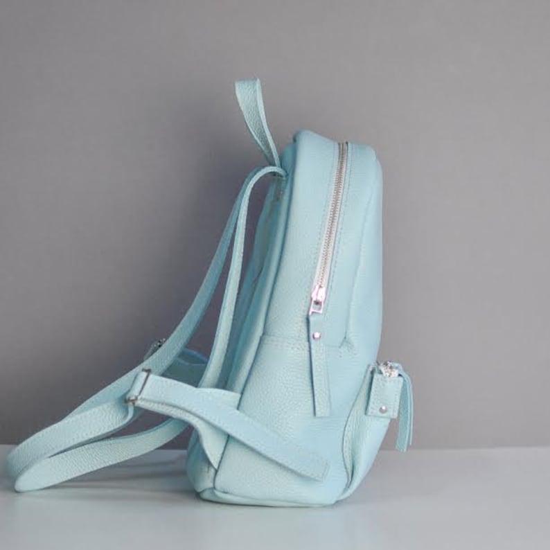 Pilot S Aqua Leather backpack