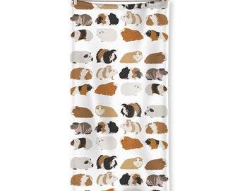 Guinea Pig, beach towel, guinea pig breeds, guinea pigs towel, Cute piggie, guinea pig gift, guinea pig mom gift
