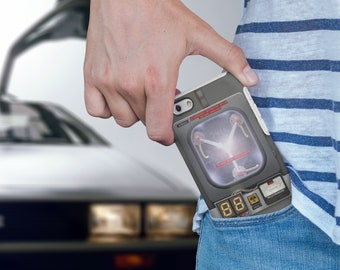 Flux Capacitor, Back to the future inspired, BTTF, 80s, iPhone case, samsung case, time travel, phone case, retro movie