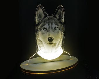 custom pet portraits, pet portraits uk, dog lover gift, pet night light, pet portraits, pet lover gift, custom dog portrait lamp