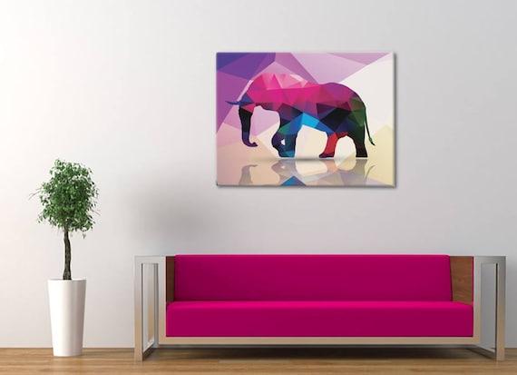 Elephant House Decor Elephant Wall Art Elephant Print   Etsy
