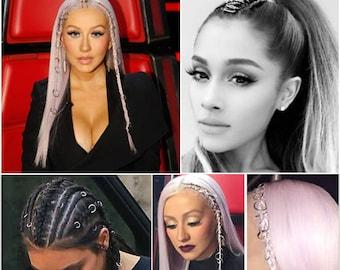 Hair Braid Rings Hair Hoops Hair Accessory Boho Jewelry Bridesmaids Dreadlocks Mermaid Hair Accessories Unique Gift Idea Women
