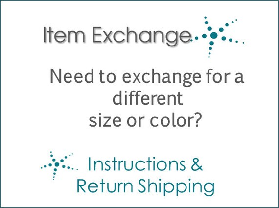 Need to Exchange an Item