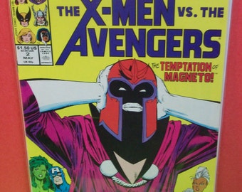 X-Men  Vs The Avengers  #2  2 In A Four Issue Limited Series  VF-NM Condition Unread  Vintage Comic Book 1987 Marvel Comics