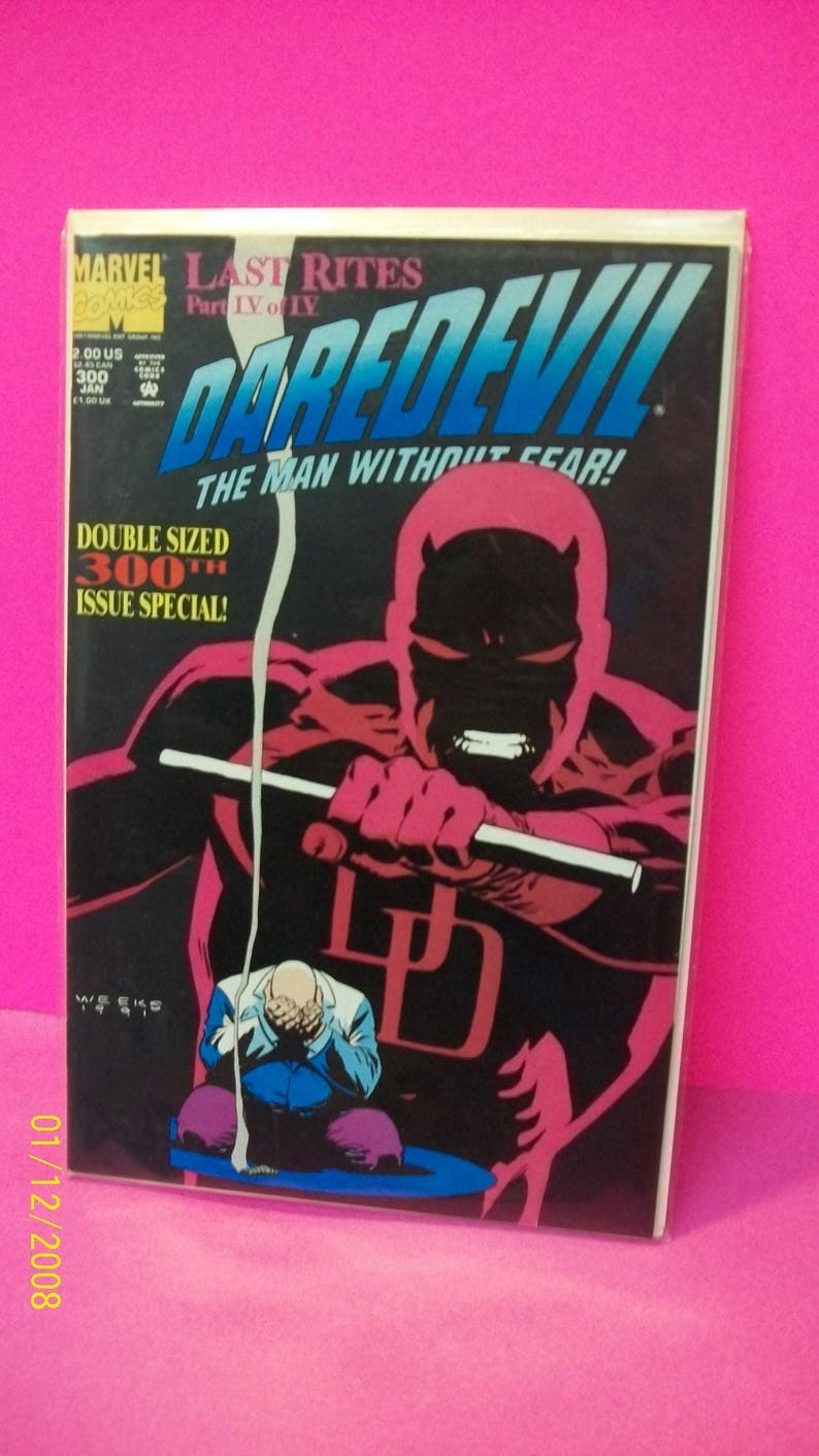 Daredevil Comic Book #189 Marvel Comics 1982 NEAR MINT NEW UNREAD