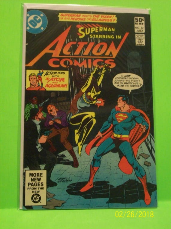 SUPERMAN #24 1988 DC Comics VF//NM