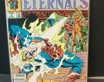 1985 The Eternals  (2nd Series) #5 Of 12 Issue Limited Series VF-NM Condition Vintage Marvel Comic Book