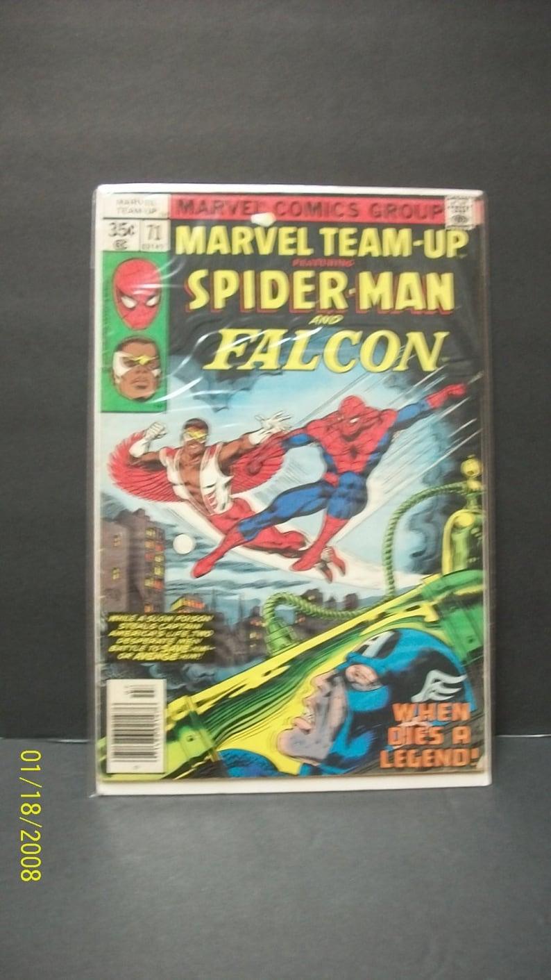 Marvel Team-Up #69 FN 1978 Stock Image