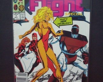 Alpha Flight Special #1 of 4 Issue Limited Series  Mystery of Her  Good-VG ,Vintage Comic Book 1991 Marvel Comics