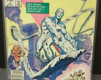 1985 IceMan #1 Of 4 Issue Limited Series  Iceman from The X-Men Fair To Good Vintage Comic Book Marvel Comics