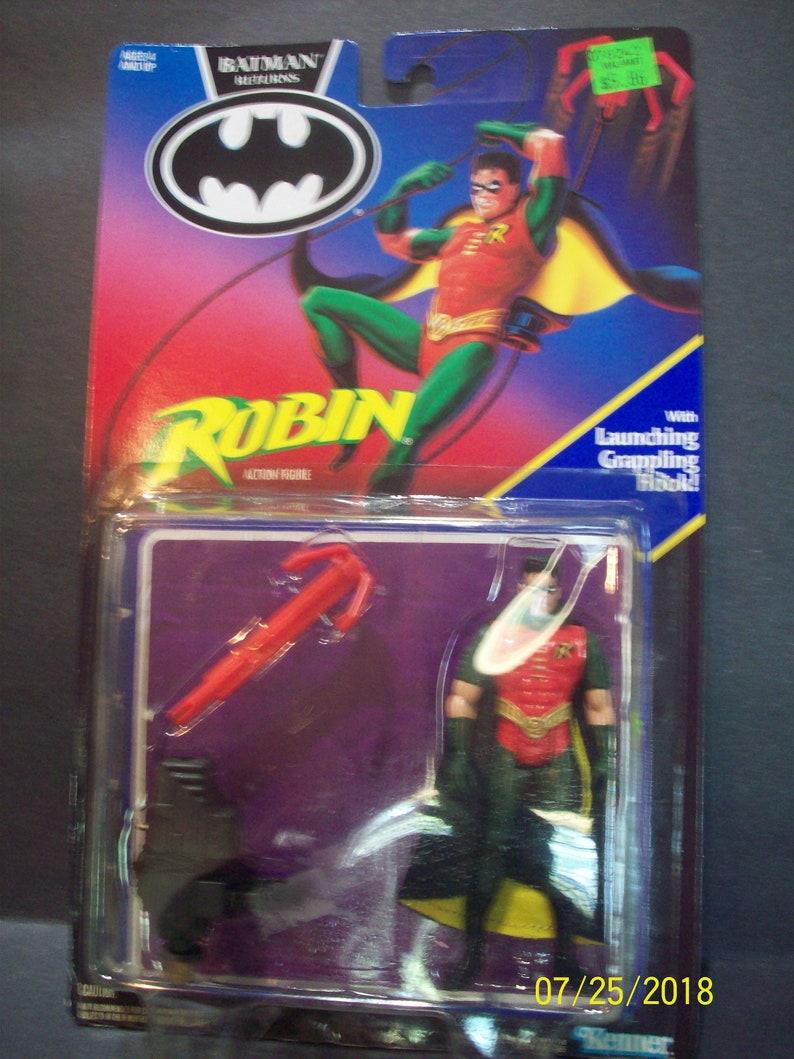 Batman returns robin new on card grappling hook acc 1991 etsy