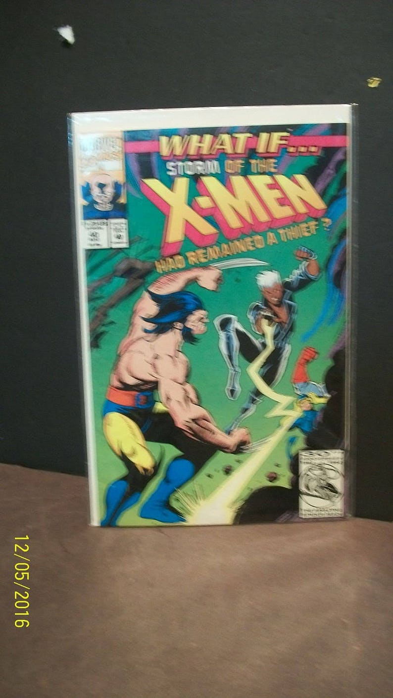 Vintage Comic Book  What If 40 Storm Of The X-Men Had image 0