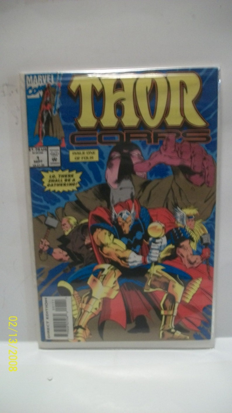 Thor Corps 1   Beta Ray Bill On Cover  Issue One of Four image 0
