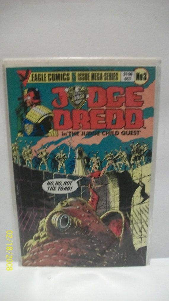 Judge Dredd Comic Book #1 Eagle Comics 1983 VERY FINE NEW UNREAD