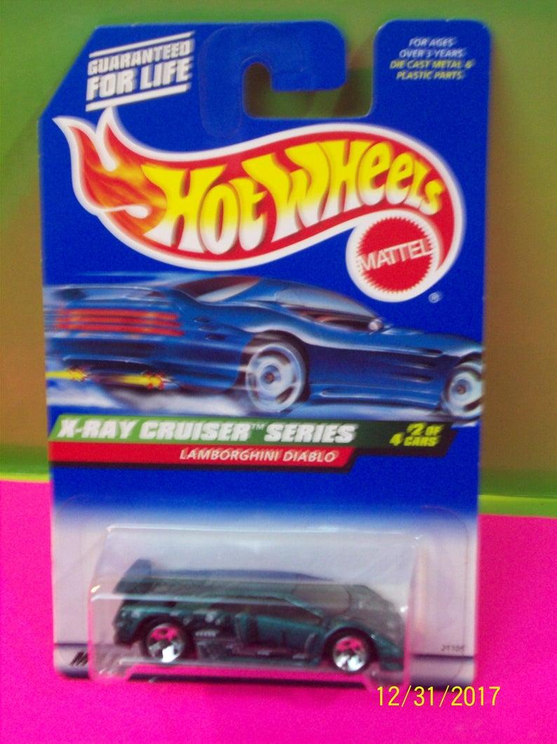 Vintage Hot Wheels Lamborghini Diablo X Ray Cruiser Series 2 4 Etsy