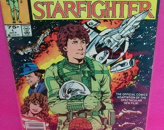 Marvel Comics The Last StarFighter #1 In A Three Issue Limited Series VF-NM Vintage Comic Book 1984 Marvel Comics