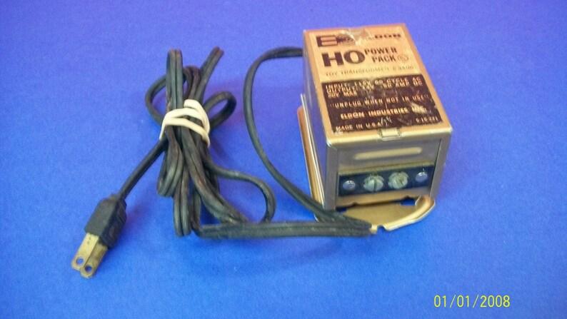 Eldon Ho Power Pack Electric Toy Transformer Model 3406 14 Etsy