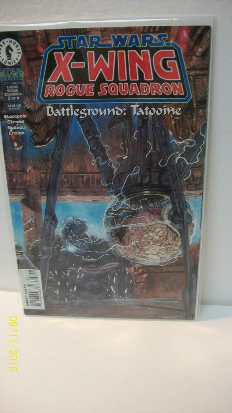 Star Wars X-Wing Rogue Squadron #2 Of 4 Battleground: Tatooine Limited  Series VF-VM Unread Cond Vintage Dark Horse Comic 1996 Great Gift