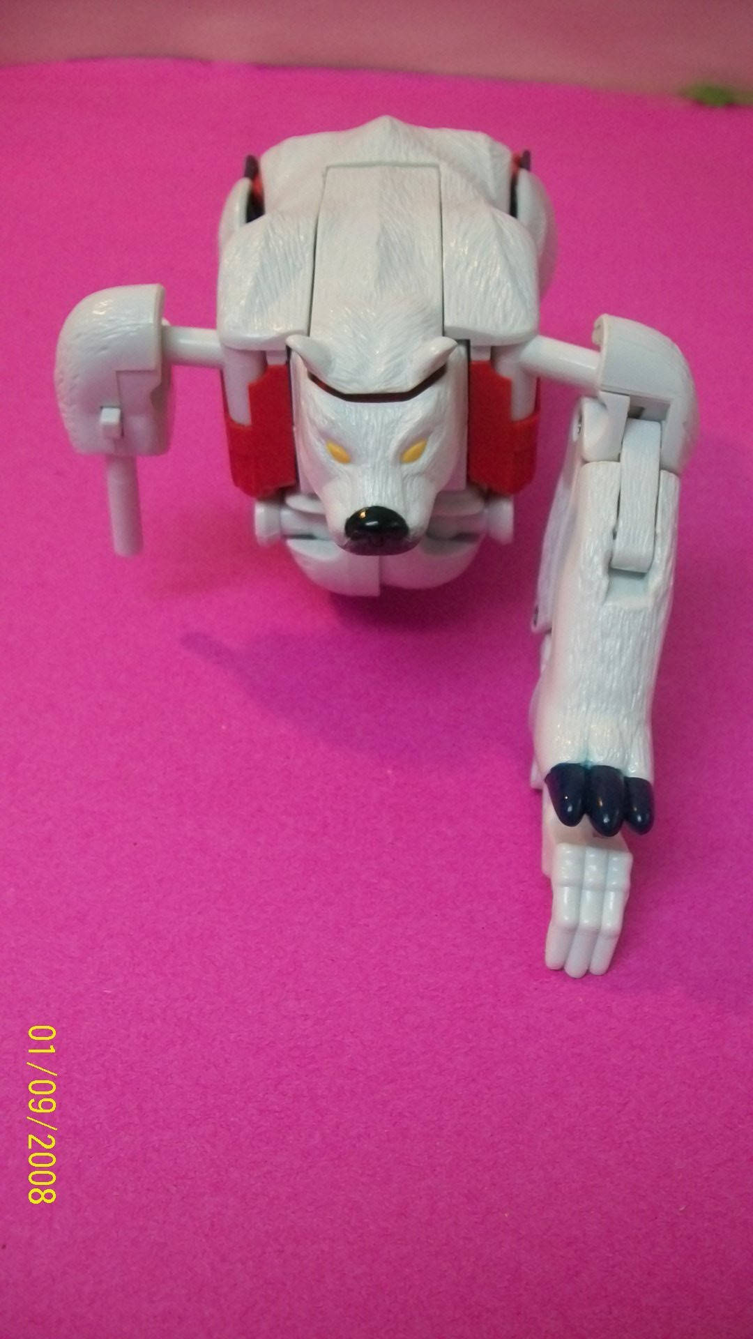 Transformers Beast Wars Polar Claw Vintage Hasbro Polar Bear