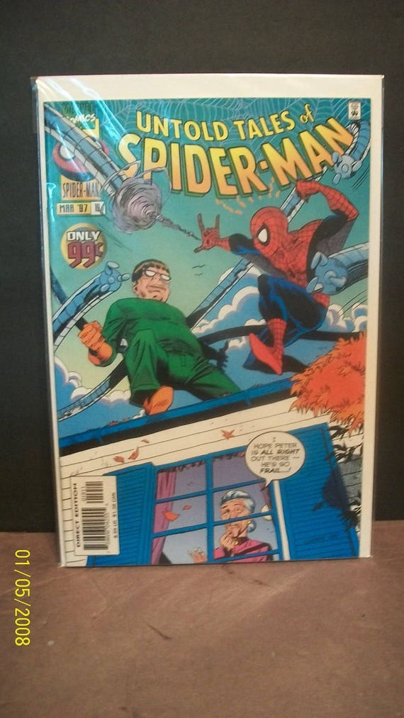 Lethal Foes of Spider-Man #1 1993 VF Stock Image