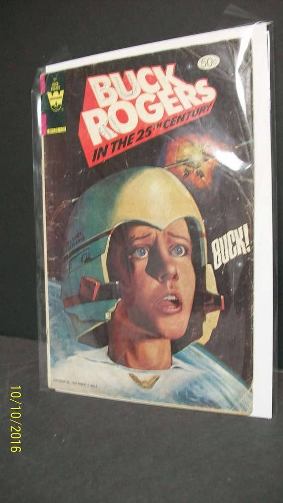 Custom  Buck Rogers Wilma  Action Figure Card