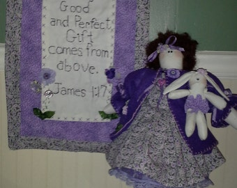 Paisley, new baby gift, handmade gift, mother's day gift